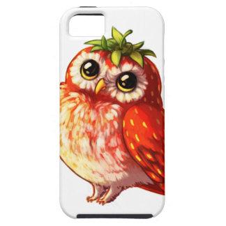 Strawberry Owl iPhone Cases