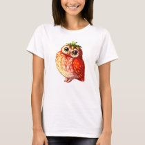 Strawberry Owl Shirt