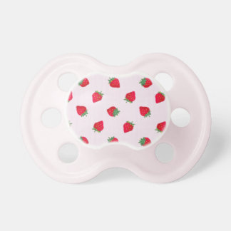 Strawberry Pacifier