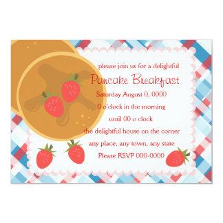 Strawberry Pancake Card