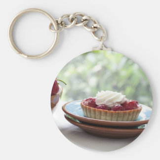 Strawberry Pastries Keychain
