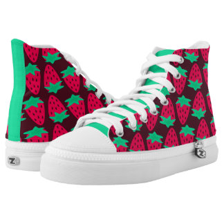 Strawberry Patch High-Top Sneakers