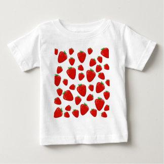 Strawberry pattern baby T-Shirt