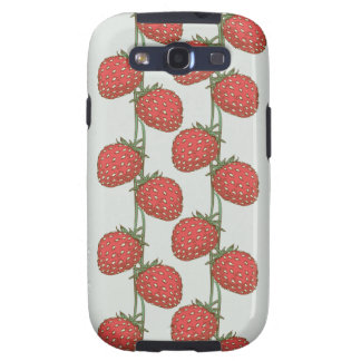 Strawberry Pattern Samsung Galaxy SIII Cover