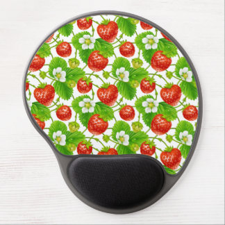 Strawberry Pattern Gel Mouse Pad
