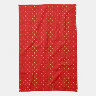 Strawberry Pattern Hand Towels