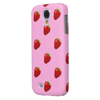 strawberry pattern HTC vivid tough Samsung Galaxy S4 Cover