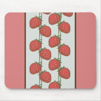 Strawberry Pattern Mouse Pad