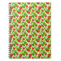 Strawberry Pattern Notebook