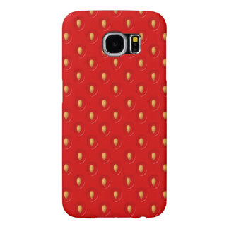 Strawberry Pattern Samsung Galaxy S6 Case