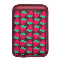 Strawberry Pattern Sleeve For iPad Mini