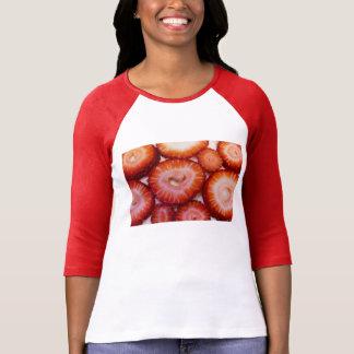 Strawberry Pattern T-Shirt