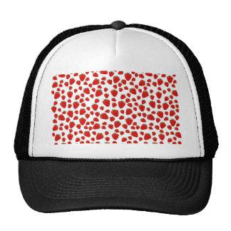 Strawberry  pattern trucker hat