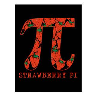 Strawberry Pi Math Humor Pi Humor Postcard