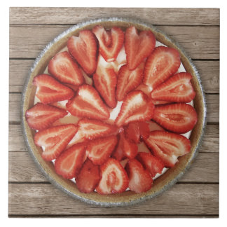 Strawberry Pie Ceramic Tile