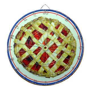 strawberry pie dart board