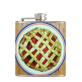 strawberry pie flask