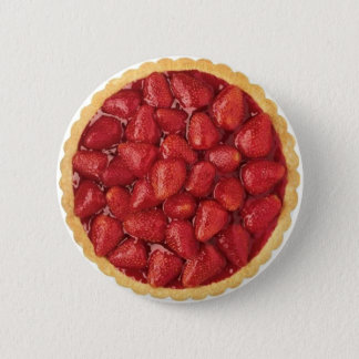 Strawberry Pie Pinback Button