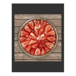 Strawberry Pie Postcard