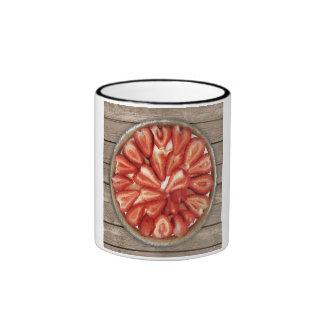 Strawberry Pie Ringer Mug