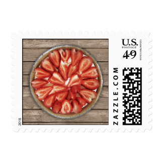 Strawberry Pie Stamp