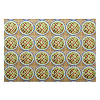 strawberry pies placemat