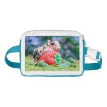 strawberry pig fanny pack