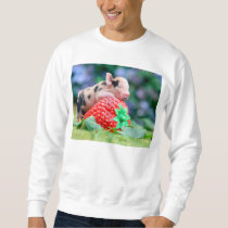 strawberry pig sweatshirt