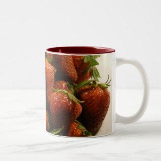 Strawberry Pile Mug