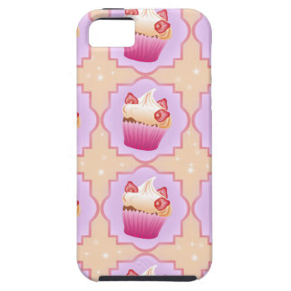 Strawberry pink cupcakes iPhone 5 cover