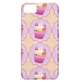Strawberry pink cupcakes iPhone 5C cover