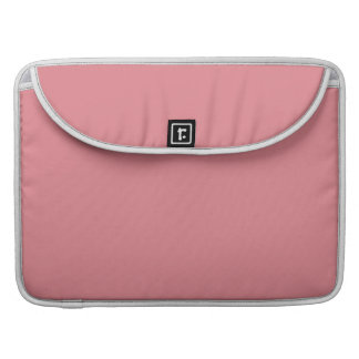 Strawberry Pink High End Solid Color MacBook Pro Sleeves