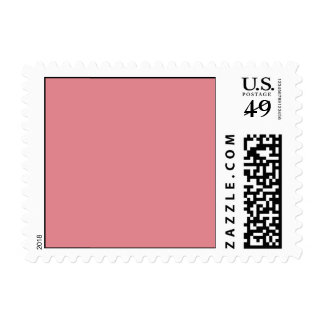 Strawberry Pink High End Solid Color Stamp
