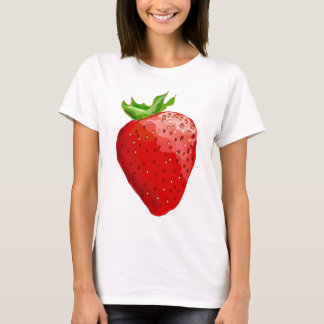 Strawberry Playera