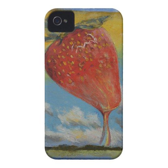 Strawberry Rainbow Case-Mate iPhone 4 Case