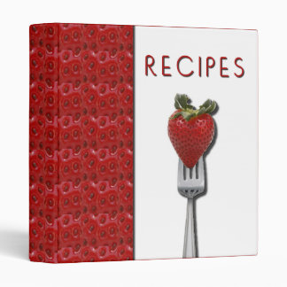 Strawberry Recipe Binder