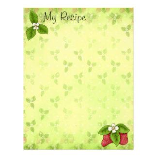Strawberry Recipe Page