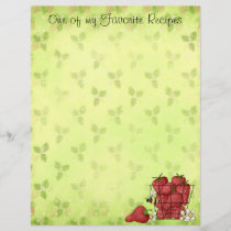 Strawberry Recipe Page