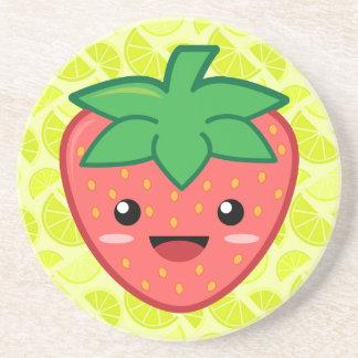 Strawberry Sandstone Coaster
