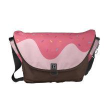 Strawberry Sauce and Sprinkles (lots of 'em) Messenger Bag