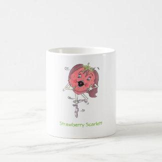 Strawberry Scarlett, 11 oz classic white  mug. Coffee Mug