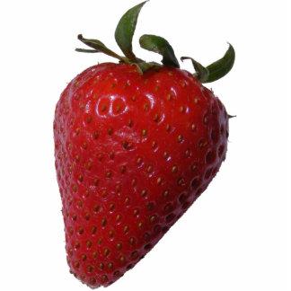 Strawberry Sculpture Keychain Photo Sculpture