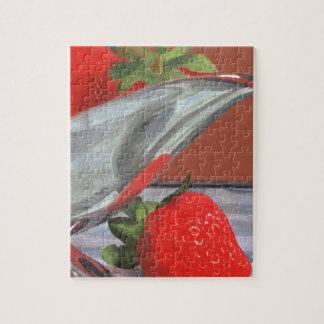 Strawberry Season Jigsaw Puzzle