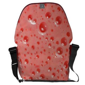Strawberry shake bolsas messenger
