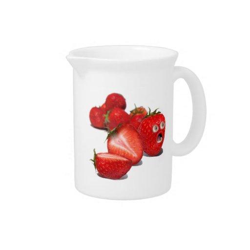 Strawberry Shock Drink Pitchers
