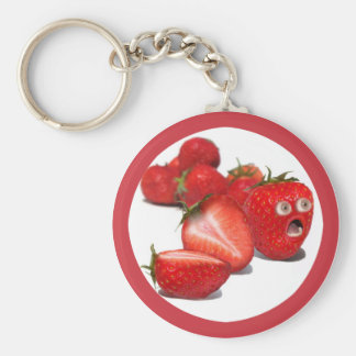 Strawberry Shock Keychain