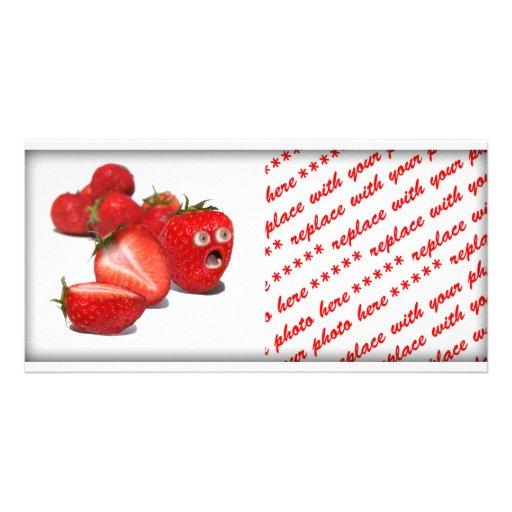 Strawberry Shock Photo Card