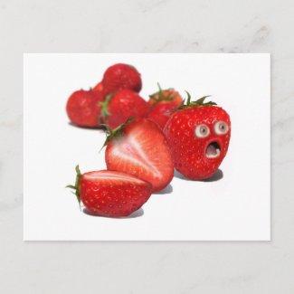Strawberry Shock postcard