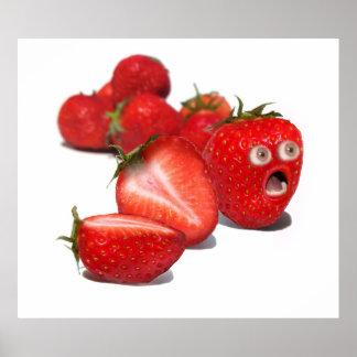 Strawberry Shock Poster