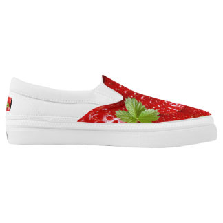 Strawberry Shoes for Springtime and Summer!